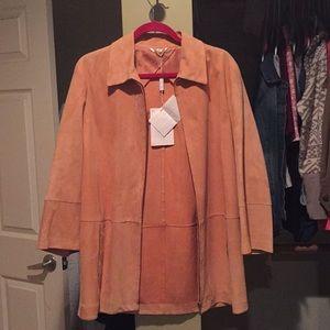 NWT suede MaxMara jacket!! Authentic